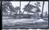 [Constructing the frame of the Singing Tower at Mountain Lake Sanctuary (Lake Wales, Fla.):...